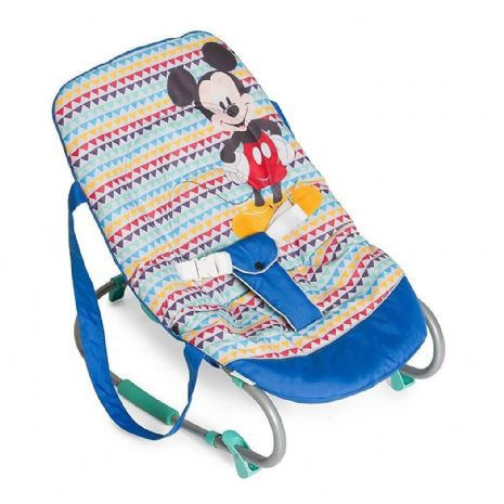 New Hauck Disney Mickey Mouse Geo blue Baby bouncer rocky bungee